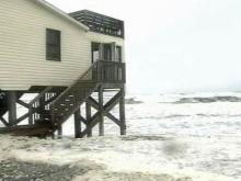 Coastal erosion possible as Nor'Easter crawls up N.C. Coast