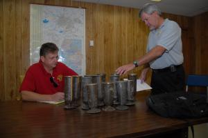 Goldsboro police recovered cemetery vases from scrap yards and a wooded area.