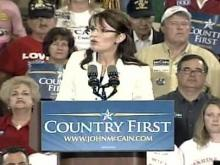 Palin sounds GOP themes in N.C. visit