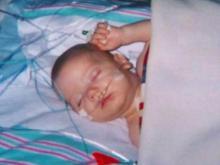 Heart diseases can strike infants, children