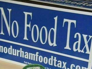 Durham to vote on controversial food tax