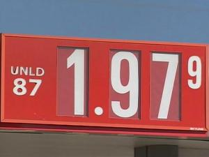 A Sheetz station on New Bern Avenue in Raleigh posted a price of $1.97 for a gallon of regular, unleaded gas Monday, Nov. 10, 2008.