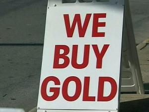 More and more customers are looking to sell gold items because the value of gold has remained high. Jewelers are also making a profit by selling it to refiners.