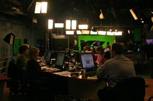 It takes a large team in the WRAL News studios to deliver news and analysis on election.