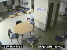 Video released Tuesday shows workers at Cherry Hospital dancing and playing cards as 50-year-old Steven Howard Sabock sits unattended for nearly 24 hours before he dies.