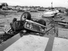 On Nov. 28, 1988, a tornado killed four people and injured 157 and caused an estimated $77 million in damage as it ripped through north Raleigh subdivisions and shopping centers.