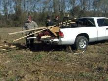 Tornado victims clean up, apply for loans