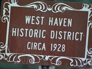 West Haven Historic District in Rocky Mount