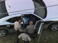 State troopers question a suspect after a high-speed chase Dec. 19, 2008.