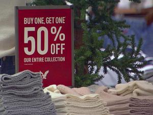 With two shopping days left until Christmas, retailers are dropping prices and offering discounts in effort to boost sales as much as possible.