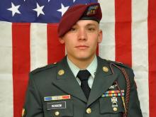 Spc. Clifton P. Morrow