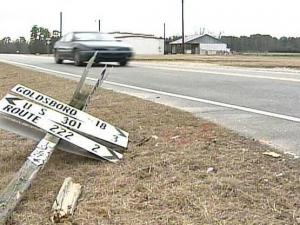 A 23-year-old Eureka volunteer firefighter and a 78-year-old woman from Wilson died when they vehicles crashed on Tuesday, Dec. 23, 2008, at Polly Watson Road and N.C. Highway 581 in Wayne County.