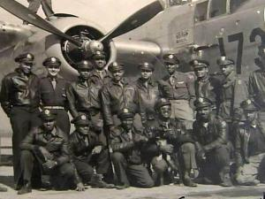 The Tuskegee Airmen were a corps of black pilots during World War II.
