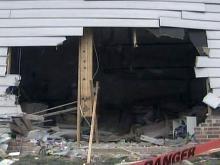 SUV slams into Durham home