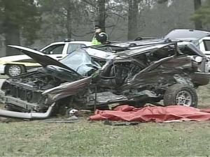 Lincoln Ross Woods, 25, of Cary, died in a crash with a school bus on Morrisville Carpenter Road the morning of Monday, Jan. 5, 2008. Cary police believe that a grey Ford Taurus running a stop sign caused the wreck.