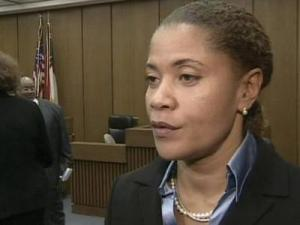 Durham County District Attorney Tracey Cline says being a district attorney isn't about popularity but about doing the right thing. Cline, a longtime sex crimes prosecutor in the office, took the oath of office Monday, Jan. 5, 2009.