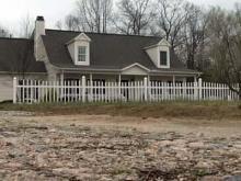 Louisburg home gets shot
