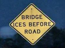 The threat of black ice