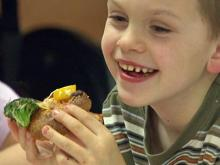 Children learn to eat right in Raleigh program
