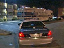 Police were at 4709-222 Old Plank Road in Raleigh investigating a homicide on Feb. 5, 2009.