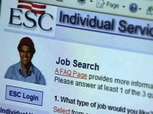 The Employment Security Commission Web site.
