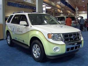 Automakers showcased their newest environmentally-friendly models at International Auto Expo in Raleigh.