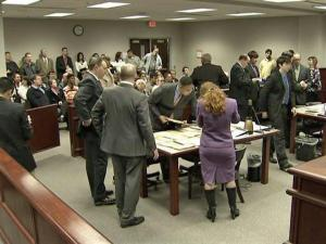 On the afternoon of Monday, Feb. 16, 2009, District Judge James Fullwood presided over a courtroom crowded with people for 175 traffic cases, many for serious drunken-driving charges. Fullwood had three hours to get through them.