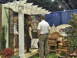 Home-improvement vendors displayed their wares at the Raleigh Spring Home Show in the downtown Convention Center Feb. 20-22, 2009.