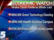 Wake Tech seeking federal help