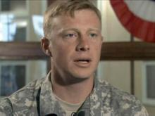 Soldier opens up in brother's documentary
