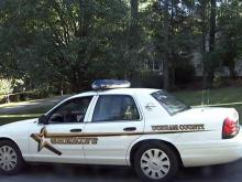 Durham County sheriff&#039;s cruiser
