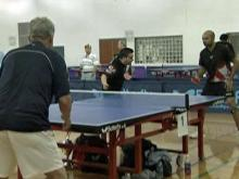table tennis swings into Cary