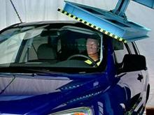 IIHS conducts new SUV roof testing