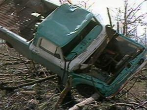 A series of tornadoes swept across eastern North Carolina on March 28, 1984, killing 42 people and leaving a path of destruction that stretched from South Carolina to Virginia.