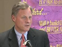 Burr concerned about economic recovery plan