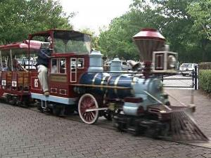 The Pullen Park train will head to the roundhouse in 2010, as Raleigh shuts down the park for extensive upgrades.