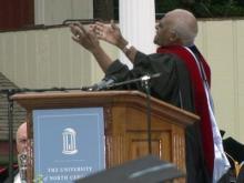 Desmond Tutu, Oprah give commencement speechs