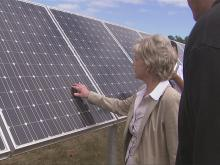 Perdue pushes N.C. to go green