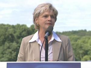 Gov. Bev Perdue on Thursday announces her energy reform package to create jobs and promote a strong and sustainable green economy in North Carolina.