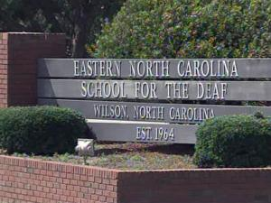 The Eastern N.C. School for the Deaf in Wilson serves about 100 hearing-impaired students.
