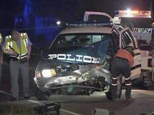 Raleigh Police officer injured in wreck