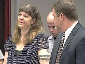 Christine Meyer pleaded guilty to second-degree murder and DWI in a wreck that claimed the lives of a father and son.