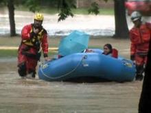 Heavy rains flood parts of Wake County