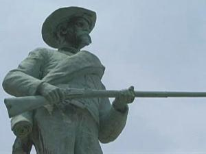 Some Oxford residents want a statue that has honored Civil War soldiers for more than 100 years in the town moved from its current site to a less visible location.