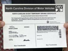 Wake DMV begins mailing drivers licenses