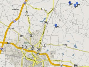 Five women's bodies have been found outside Rocky Mount in the past four years.