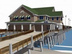 Earlier this year, state lawmakers unanimously approved a $25 million replacement of the Jennette Pier on the Outer Banks. But critics say it is a symbol of misplaced priorities during tough economic times.