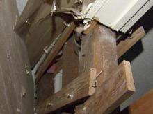 Home damaged after man hit it with truck