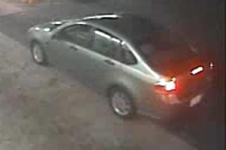 This car is thought to be operated by the suspect in a shooting in Fayetteville July 27.