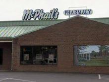 Two men sought in pharmacy robbery
